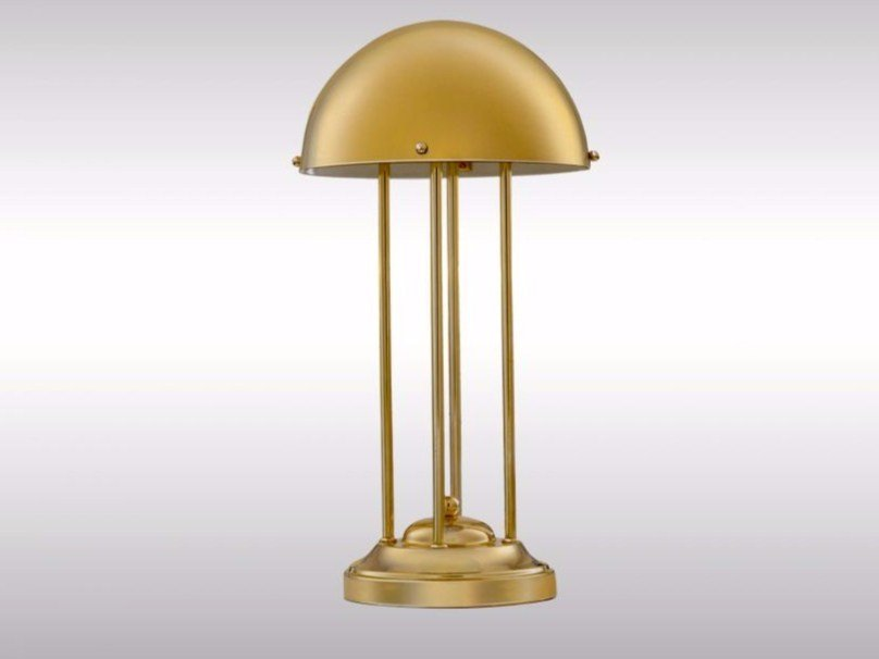 Brass table lamp HH1 | Table lamp by Woka Lamps Vienna