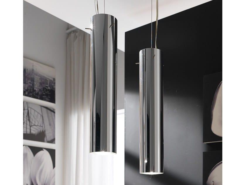 Metal pendant lamp HI-FI by Adriani e Rossi edizioni