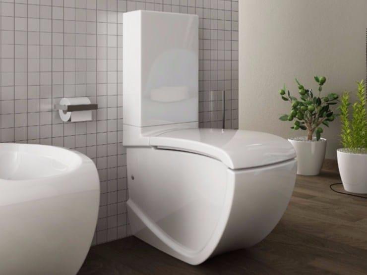 Ceramic toilet HI-LINE   Close coupled toilet by Hidra Ceramica