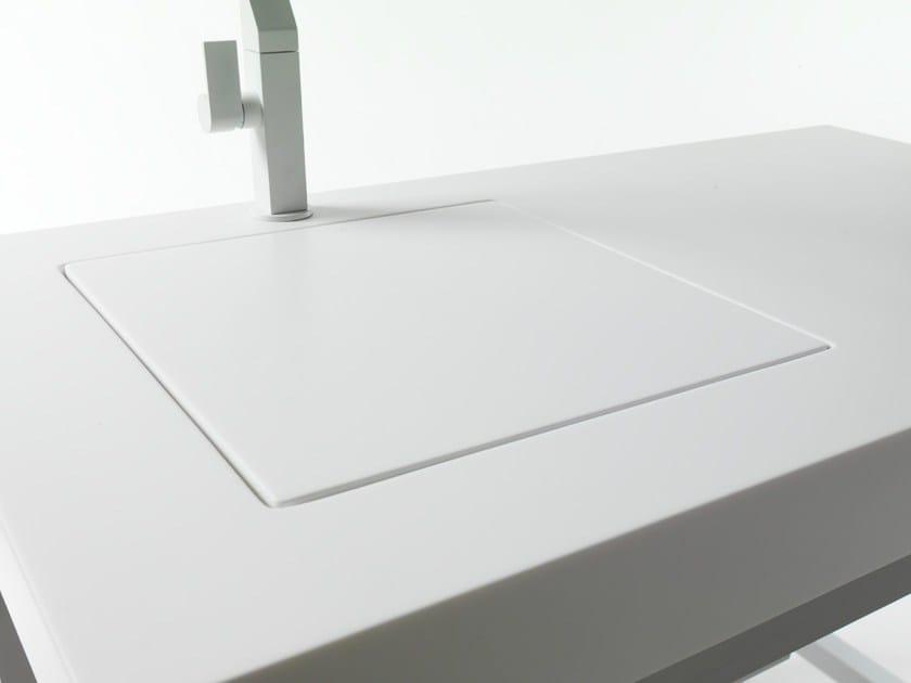HI-MACS® per top cucina Smart, Dform Srl. HI-MACS® Alpine White. Photo: © Dform