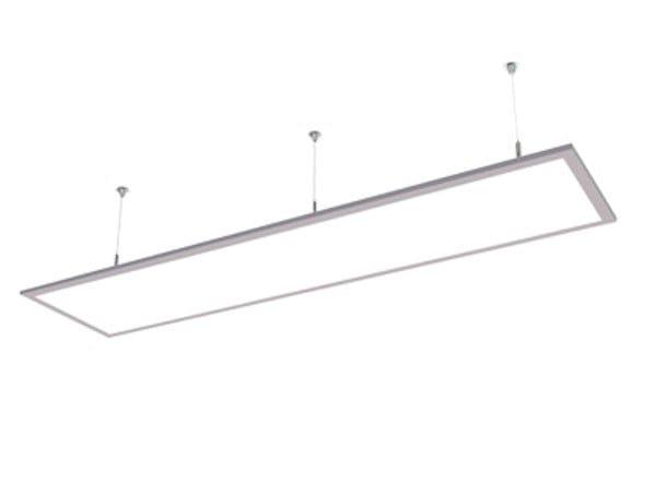LED direct light aluminium pendant lamp HI PANEL D 9940 MP by Metalmek