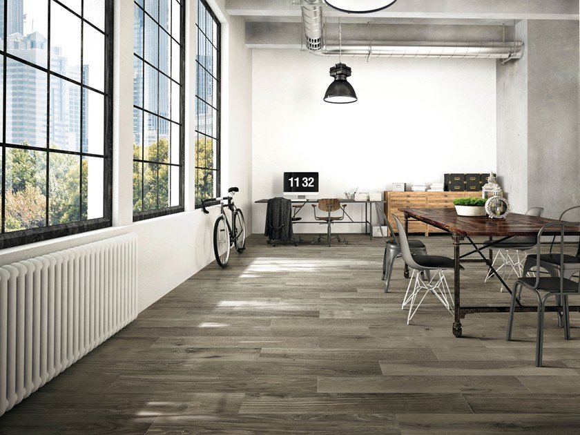 Porcelain stoneware flooring with wood effect HI - WOOD OF CERIM by CERIM