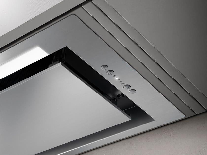 Built In Cooker Hood With Integrated Lighting Hidden By Elica