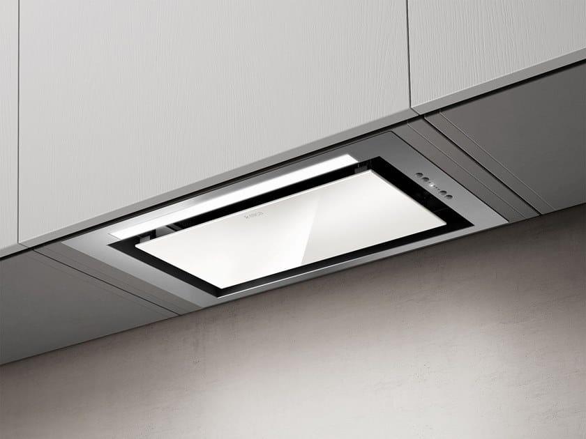Einbau dunstabzugshaube mit integrierter beleuchtung hidden by elica