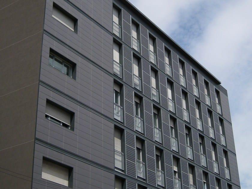 Ventilated facade HIDDEN VENERE by DALLERA TECNOLOGIE