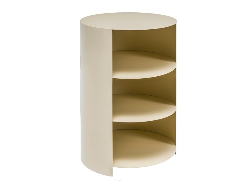 High side table with storage space HIDE PEDESTAL by Hem