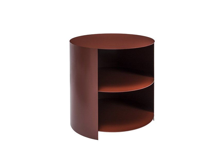 Side table with storage space HIDE | Side table by Hem