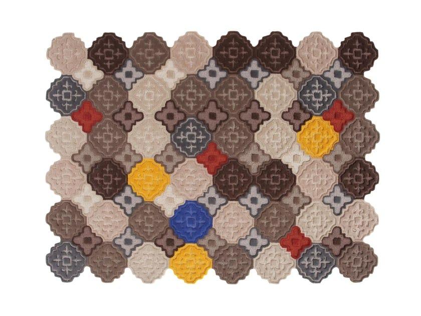 Handmade wool rug HIDRA by GAN