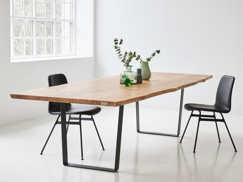 Rectangular solid wood dining table HIGHLIGHT TABLE by dk3