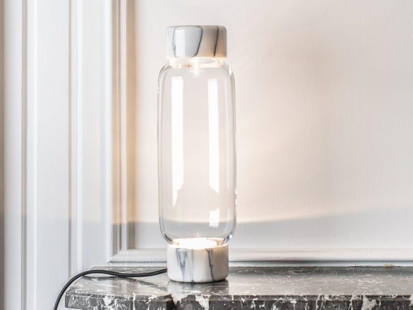 Lampada da tavolo in vetro di Murano HIGHLIGHT by Veronese