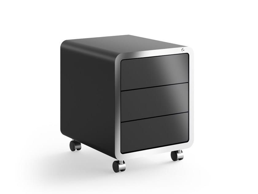 Cassettiera Per Ufficio A Rotelle.Cassettiera Ufficio Con Ruote R20 Muller Mobelfabrikation