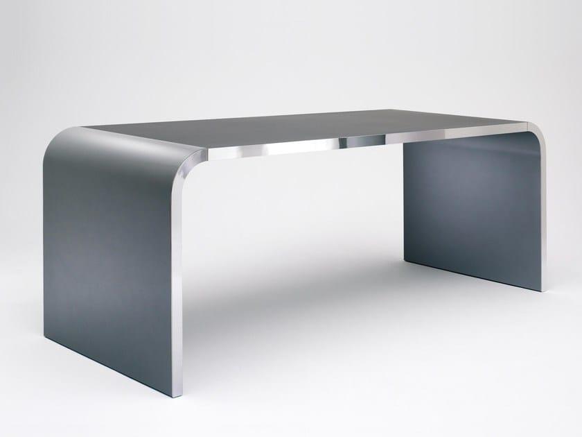 Steel office desk / table M10 by müller möbelfabrikation