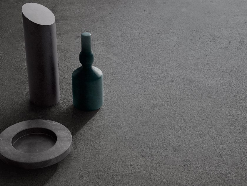 Porcelain stoneware wall/floor tiles with stone effect HIGHSTONE DARK by CERAMICA SANT'AGOSTINO