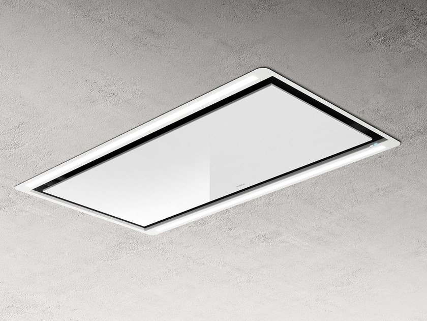Built-in stainless steel cooker hood with integrated lighting HILIGHT by Elica
