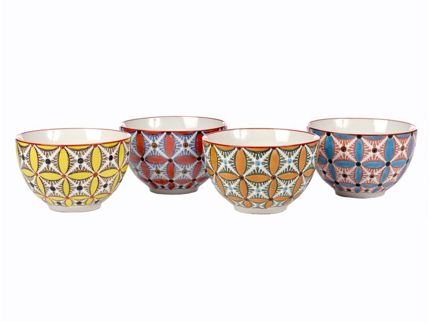 Ceramic serving bowls set HIPPY | Serving bowls set by Pols Potten