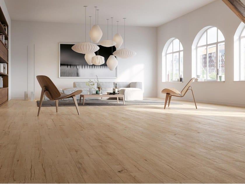 Pavimento/rivestimento in gres porcellanato effetto legno HIRATI by NOVOCERAM