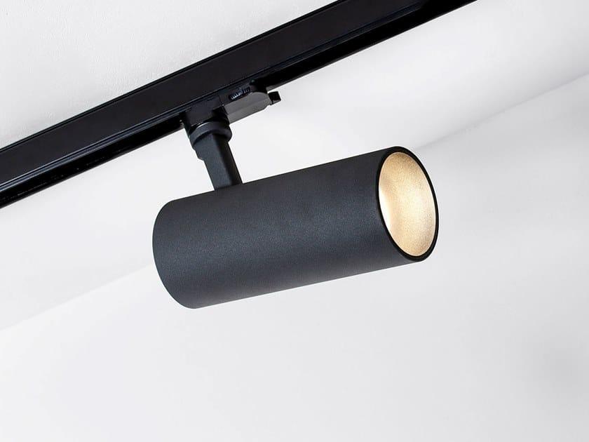 Illuminazione a binario a LED in alluminio verniciato a polvere HIT TORCH XL by HER