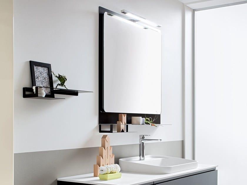 Miroir mural avec éclairage intégré pour salle de bain HITO ...