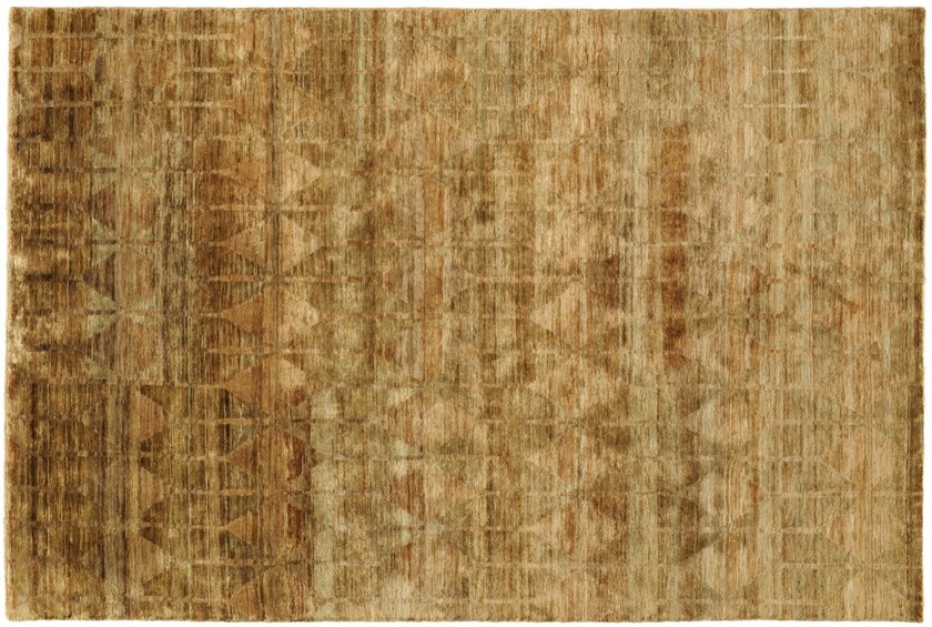Handmade rectangular jute rug HITTITE by Toulemonde Bochart