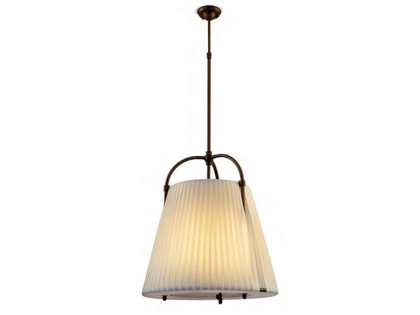 Indirect light fabric pendant lamp HIVA OA by Aldo Bernardi