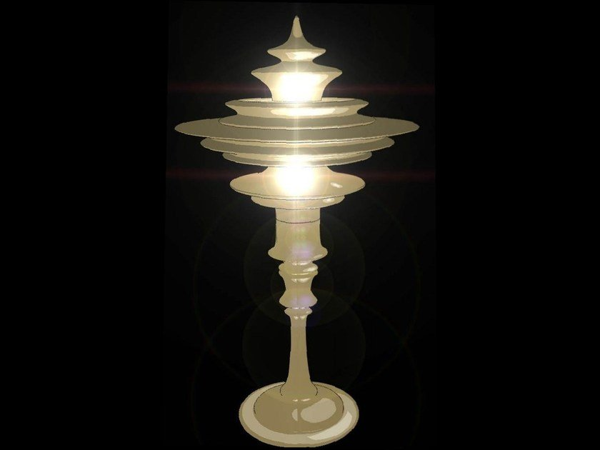 Halogen glass-fibre table lamp HIYAM | Table lamp by CEDRIMARTINI
