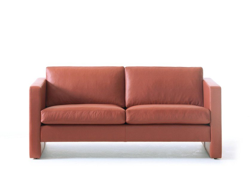 Leather sofa HJM SOFLEX 130 | Sofa by Stouby