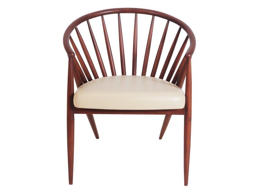 Beech chair with armrests HLOMA | Beech chair by ALANKARAM