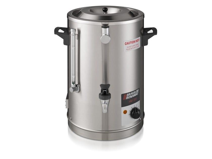 Stainless steel Commercial milk warmer HM 505 by Bravilor Bonamat