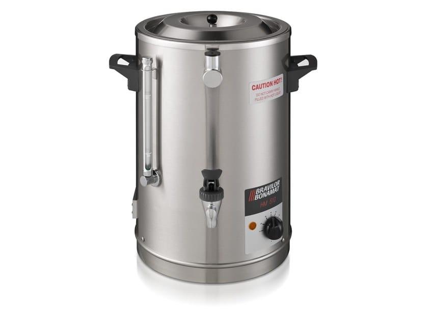 Stainless steel Commercial milk warmer HM 510 by Bravilor Bonamat