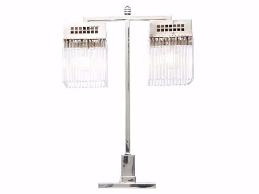 Direct light handmade brass table lamp HOFFMANN III | Table lamp by Patinas Lighting