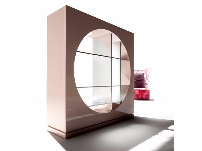 Open divider bookcase HOLE by ERBA ITALIA