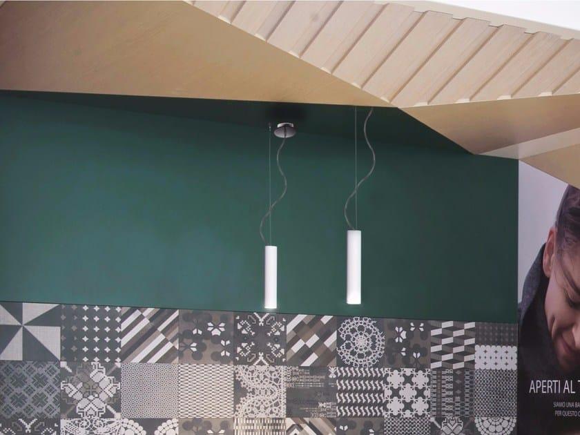 LED direct light aluminium pendant lamp HOLE   Pendant lamp by GLIP by S.I.L.E