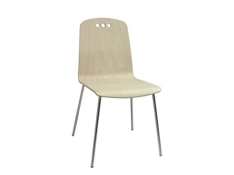 Sedia in legno HOLE by Vela Arredamenti