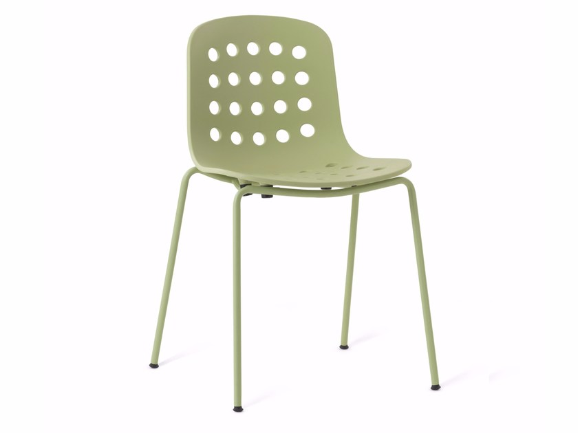 Stackable Open Back Chair HOLI | Open Back Chair By KUBIKOFF