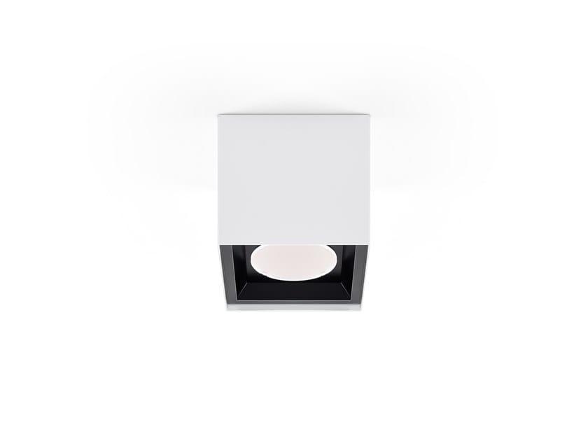 LED ceiling lamp HOLI SQ /C MINI by INDELAGUE   ROXO Lighting