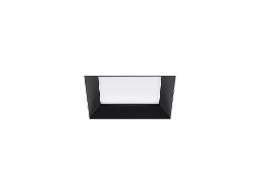 LED square recessed spotlight HOLI SQ /T MAX by INDELAGUE | ROXO Lighting
