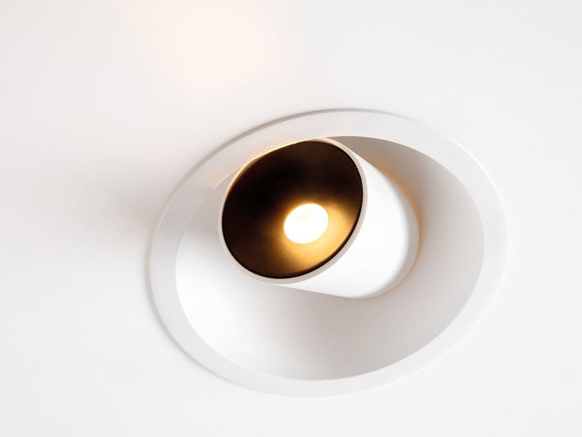 Faretto a LED in alluminio verniciato a polvere da incasso HOLLOW | Faretto da incasso by Modular Lighting Instruments