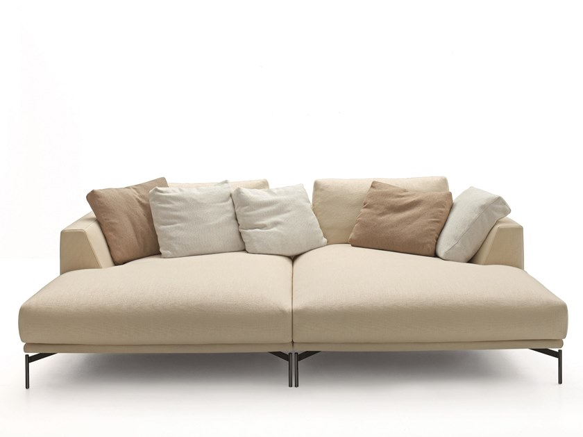 Fabric sofa with removable cover HOLLYWOOD | Sofa by arflex