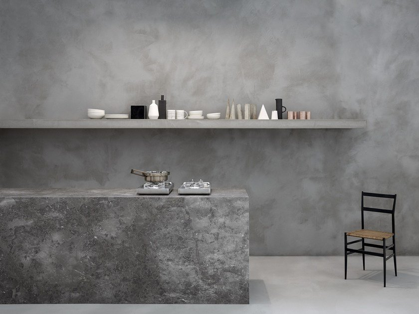 Stone wall/floor tiles HONED by SALVATORI