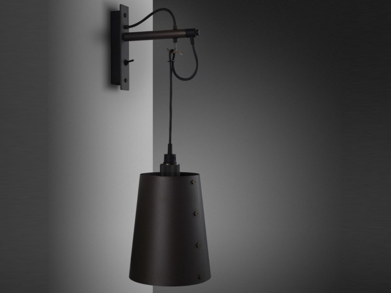 Wall lamp HOOKED WALL / large by Buster + Punch
