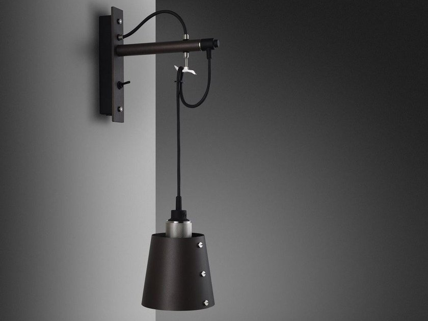 Wall lamp HOOKED WALL / small by Buster + Punch