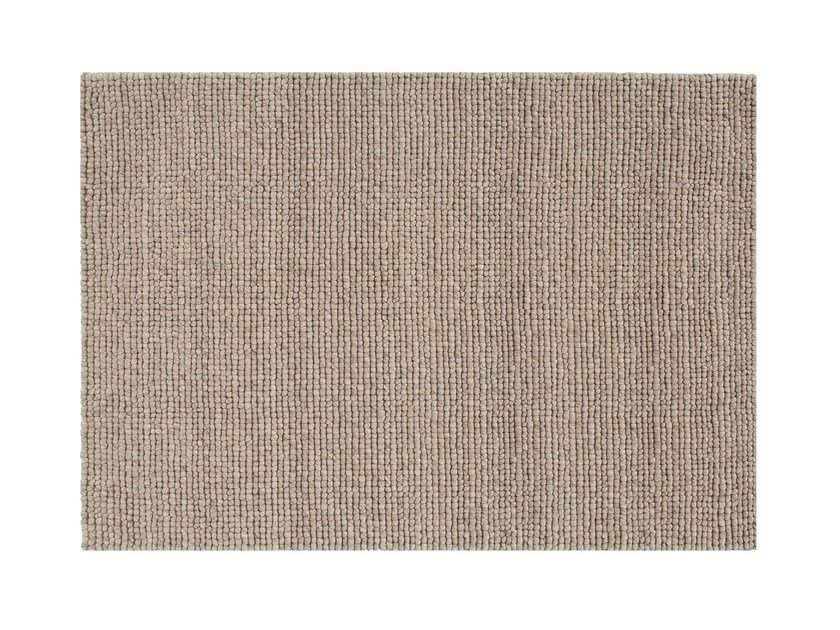 Rectangular wool rug HOOT by GAN
