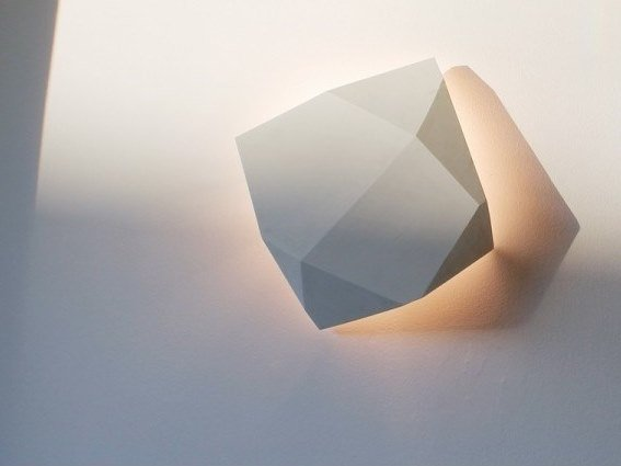 LED plaster wall lamp HOPE by GESSO