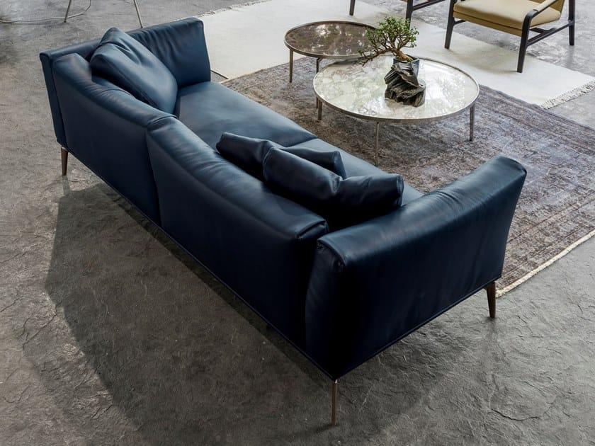 3 Seater Leather Sofa Horizon By Alivar Design Giuseppe Bavuso