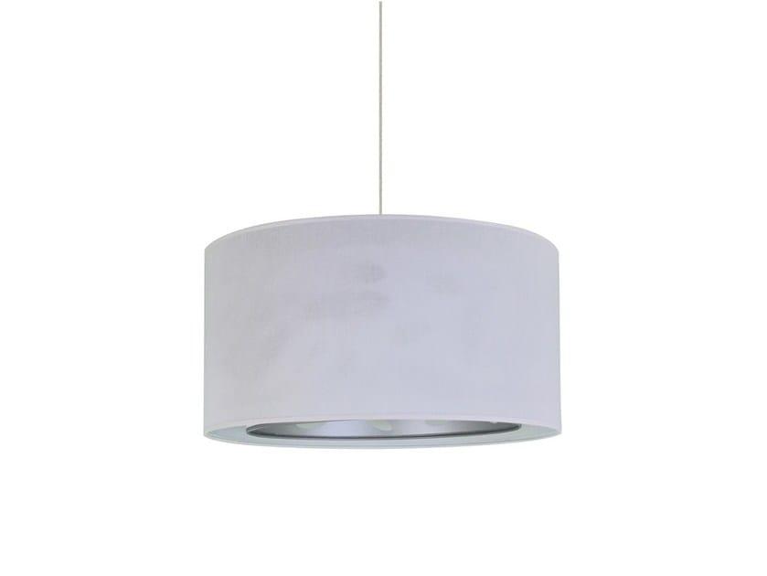 Fabric pendant lamp HORTENSE by Brossier Saderne