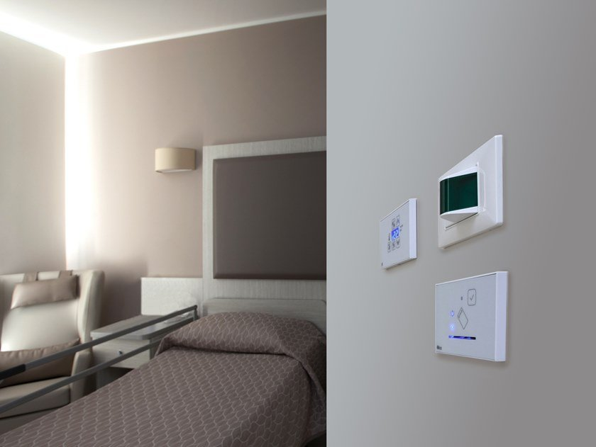 Building automation system for hospitals HOSPITAL SUPERVISOR by Microdevice