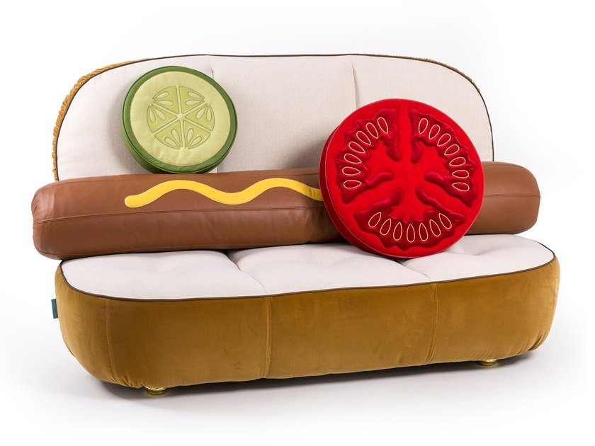 小沙發 HOT DOG SOFA by Seletti