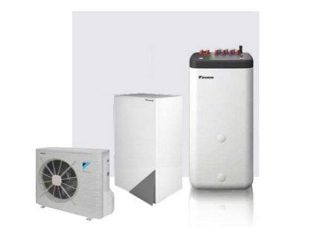Air to water Heat pump HPSU Bi-Bloc by DAIKIN Heating Systems