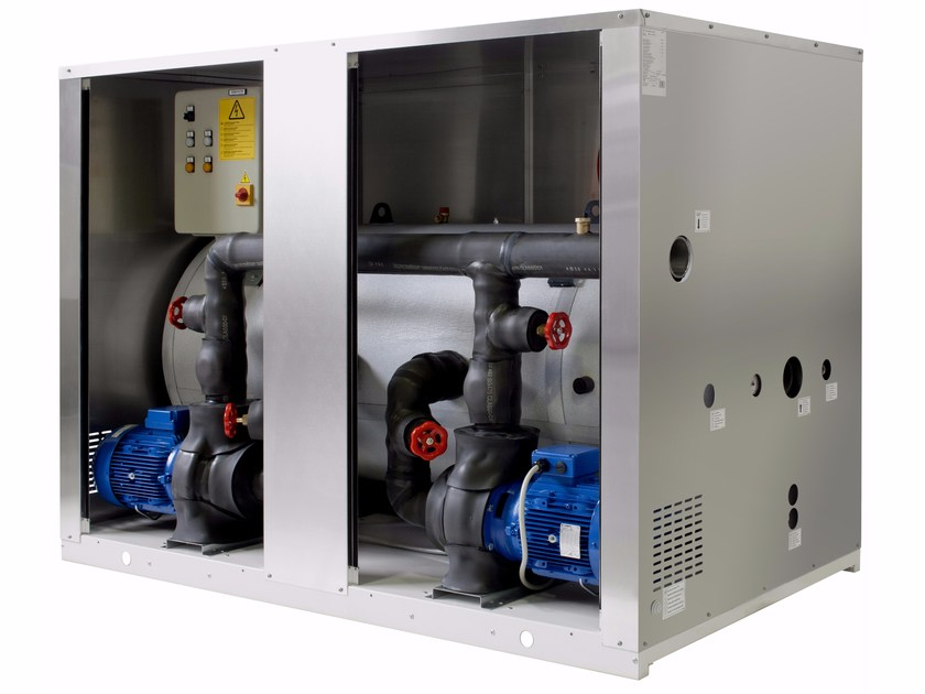 Hydronic kits for water refrigeration unit HPT by Fiorini Industries