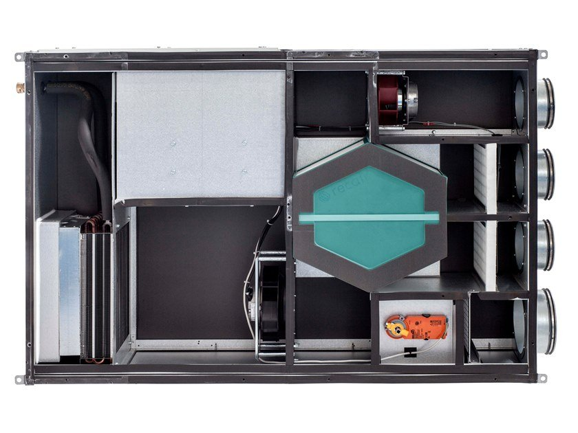 Heat pump / Mechanical forced ventilation system HRA-I PLUS by Innova